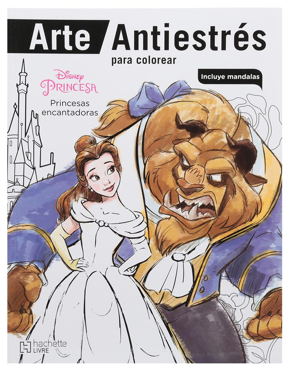 Arte Antiestrés Para Colorear Princesas Encantadoras