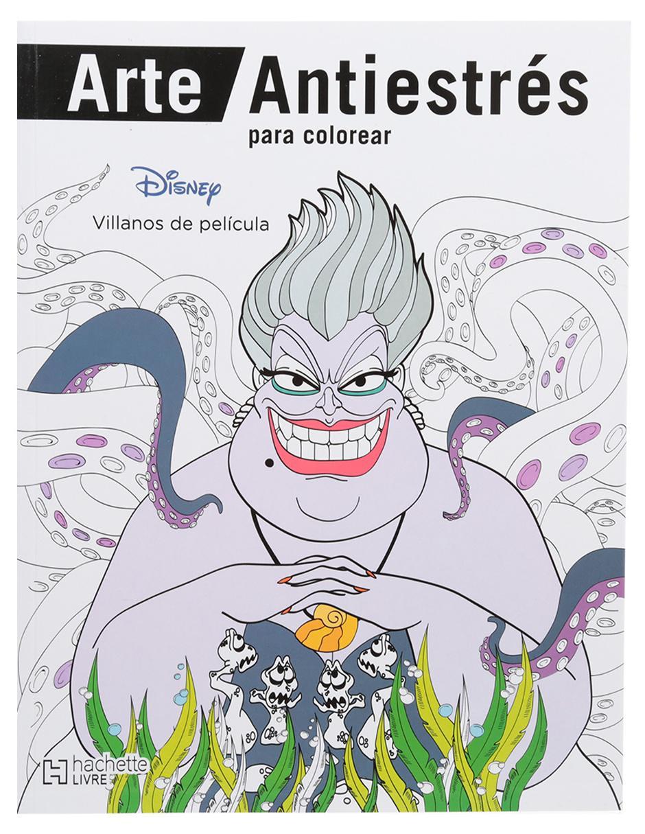Arte Antiestrés para colorear. Villanos de Películas